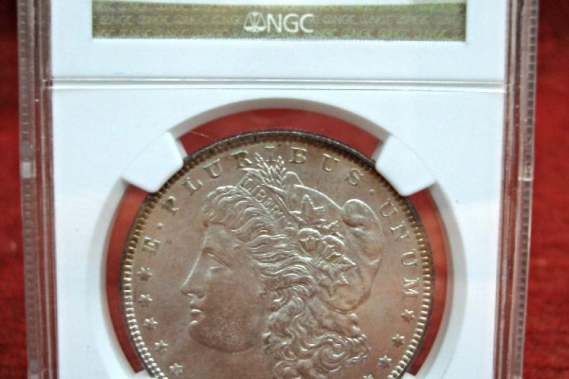 1887 Morgan Dollar Ms64 Nice Amp White