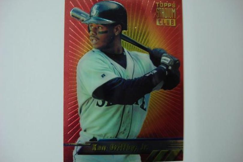 3ae65f5c0b 1994 STADIUM CLUB FINEST BASEBALL KEN GRIFFEY JR SEATTLE MARINERS #5~SUPER  NICE~ - Federal Coin Exchange