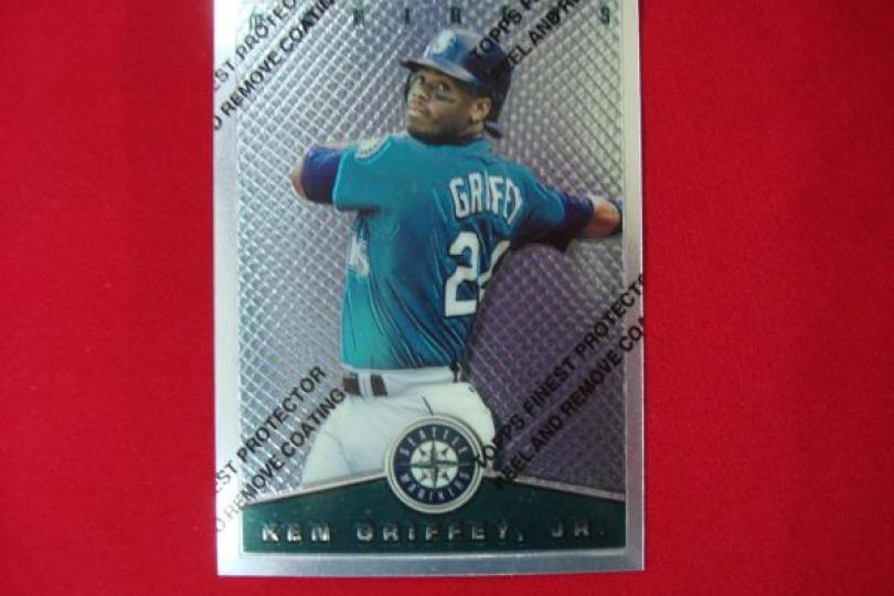 76695f45ba 1995 TOPPS FINEST KEN GRIFFEY JR #3 FILM IN TACT SEATTLE MARINERS~EXTREMELY  NICE - Federal Coin Exchange