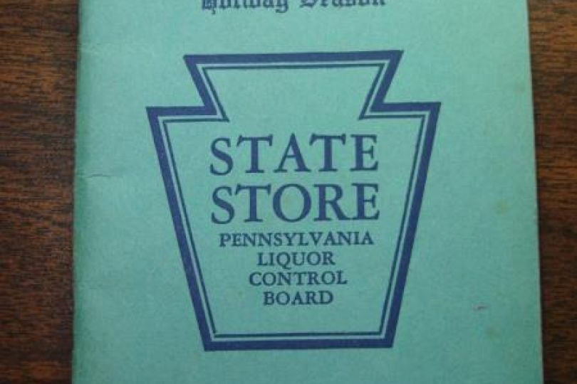 Pa State Store Hours >> Vintage 1937 Pennsylvania State Store Liquor Price List Guide