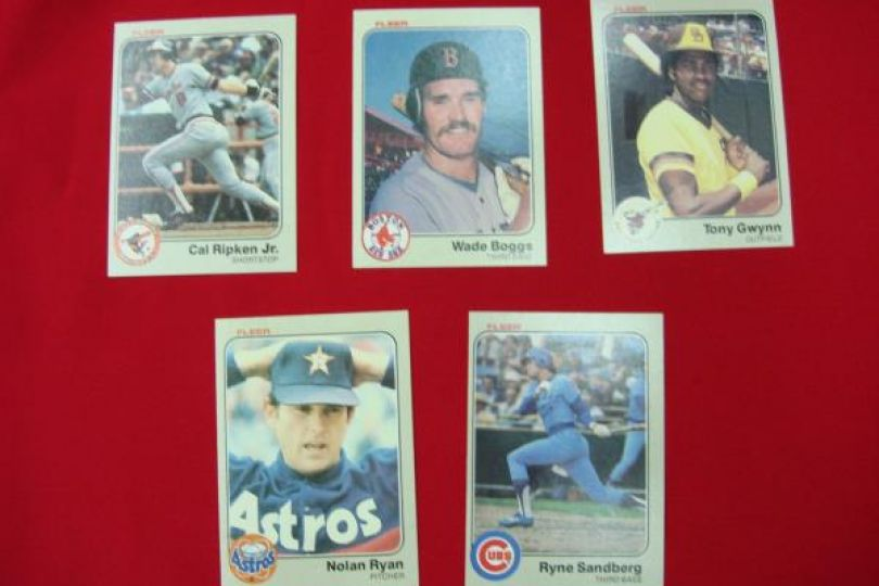 Complete 1983 Fleer Hand Collated Baseball Card Set Boggs