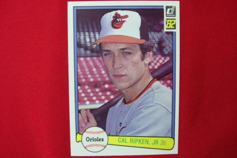 Cal Ripken Jr 1982 Donruss Baseball Rookie Card 405