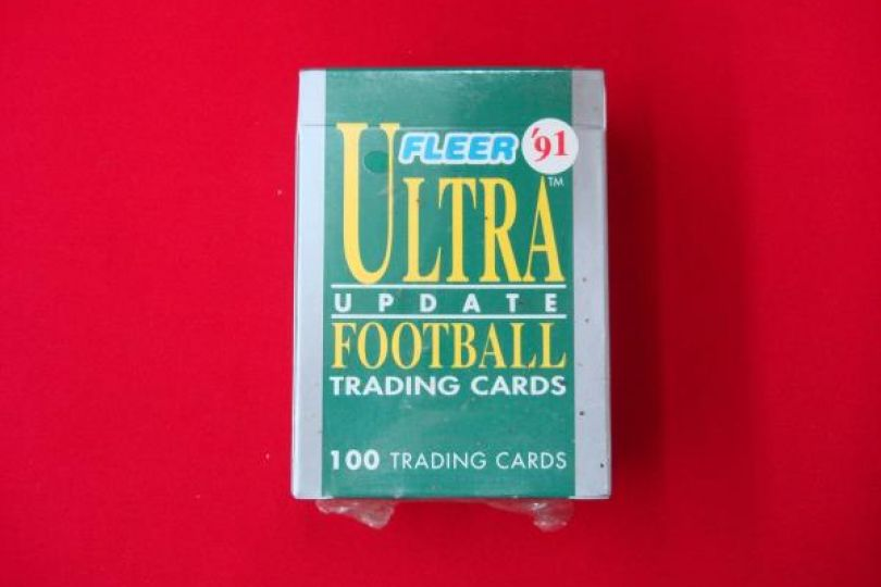 1991 Fleer Ultra Football Update Complete Factory Brett