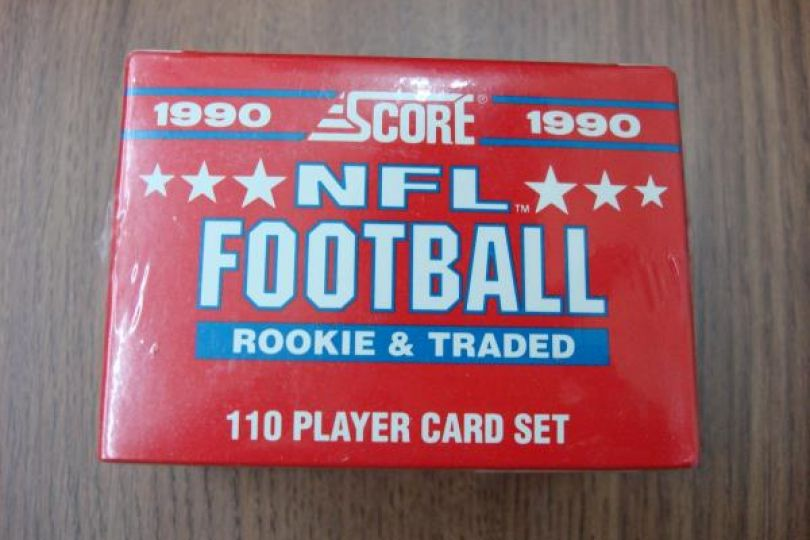 1990 Score Fb Rookie Traded Set Emmitt Smith Rookie