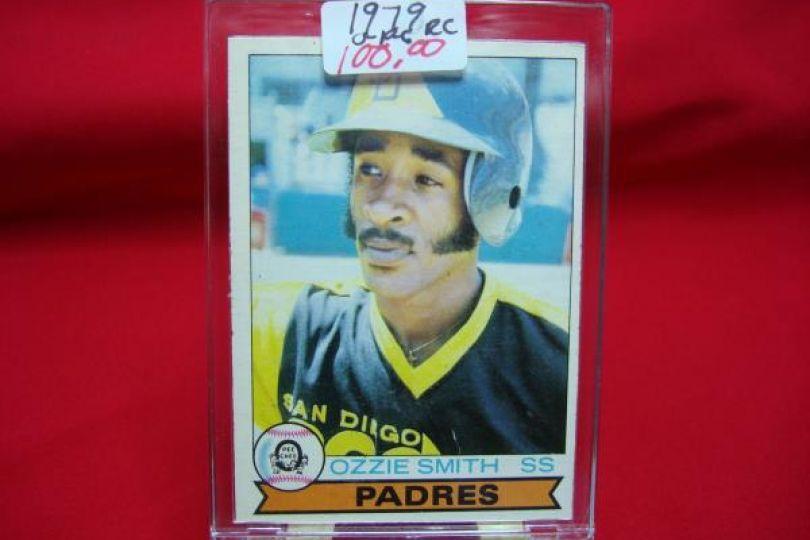 1979 O-Pee-Chee #52 Ozzie Smith San Diego Padres RC Rookie Baseball Card