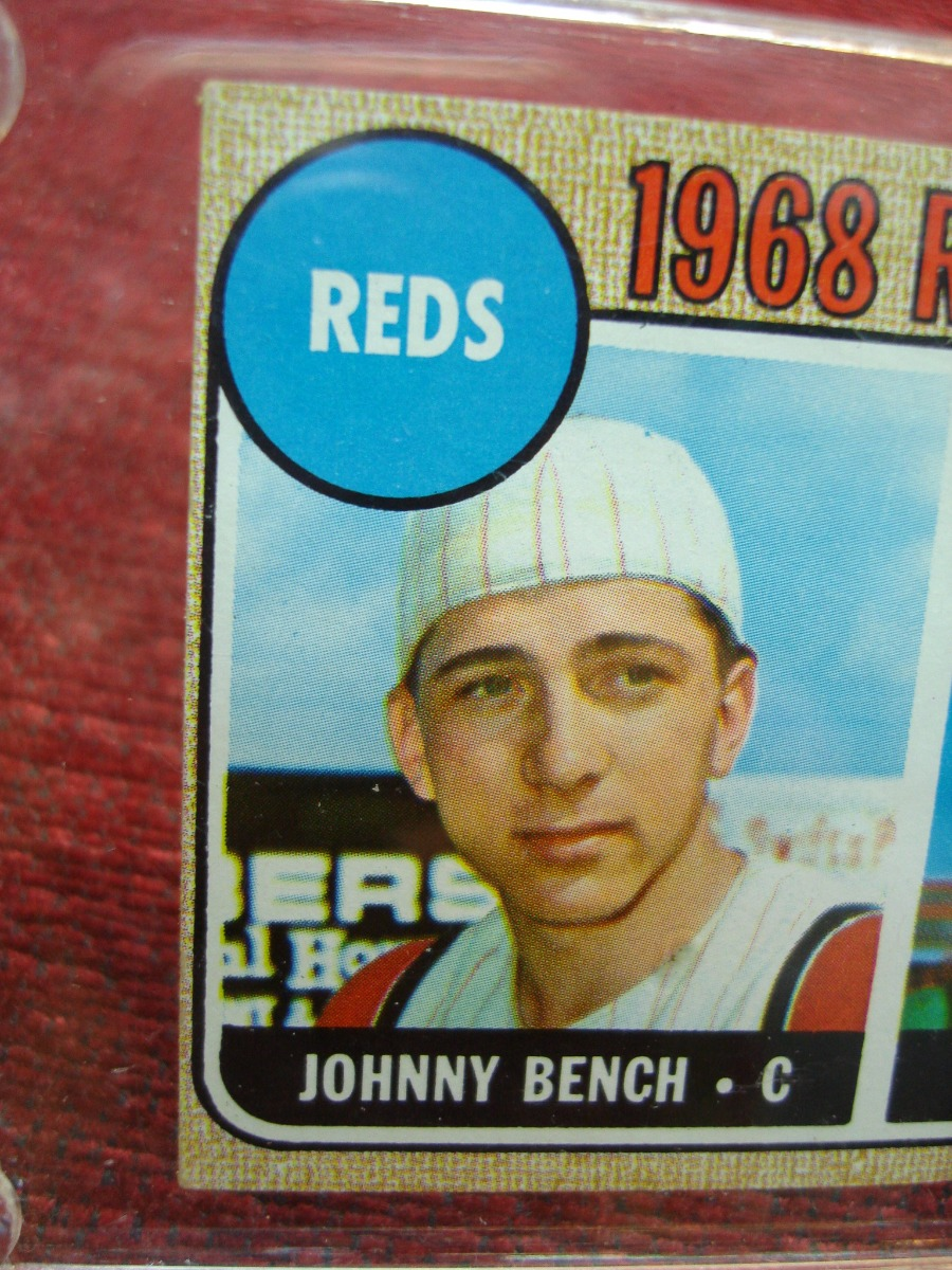 1968 Topps 247 Rookie Stars Johnny Bench Desireable Card Have A Look Federal Coin Exchange